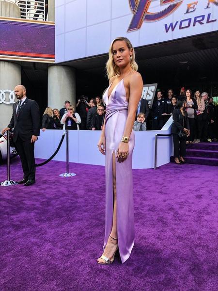 ca7703fea094 ¿Por qué Brie Larson y Scarlett Johansson se robaron las miradas en la  alfombra roja de Avengers