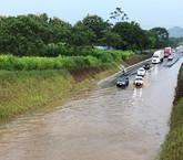 Cerrarían ruta recién inaugurada en caso de fuertes lluvias