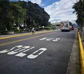 Santo Domingo y San Pablo contarán pronto con carril exclusivo para buses