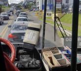Carril exclusivo para buses en Tibás provoca un caos