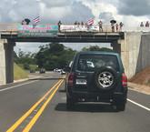 Mientras algunos reclaman por ruta Chilamate-Vuelta Kooper, otros la alaban