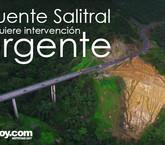 Puente sobre Quebrada Salitral es el más deteriorado de la ruta 27