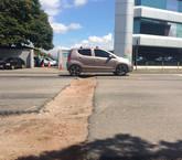 Zanja frente a Conavi provoca presas y molestia de conductores