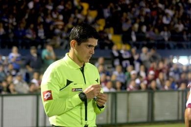Ricardo Montero volverá a ser cuarto árbitro el lunes