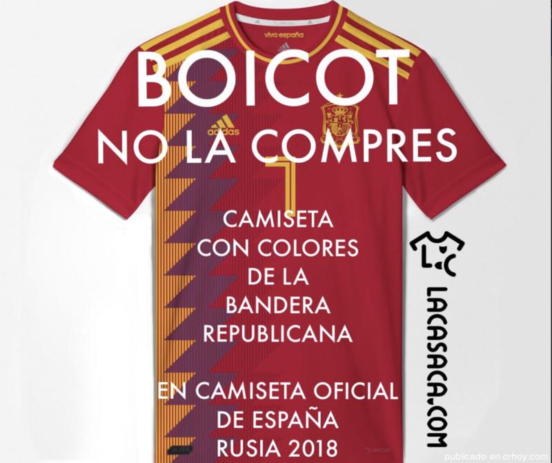 Resultado de imagen para polemica camiseta españa