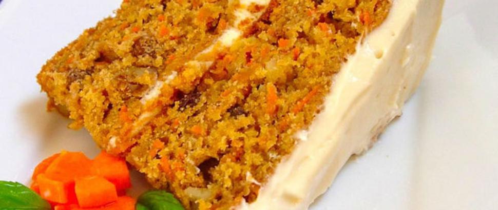 receta facil de queque de zanahoria